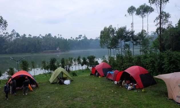 Citere Camping Ground Dekat Cileunca Lakeside Pangalengan Bandung Selatan