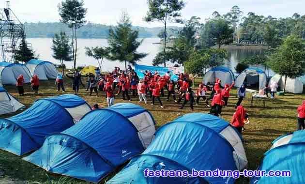 Paket Camping Situ Cileunca Pangalengan Kabupaten Bandung