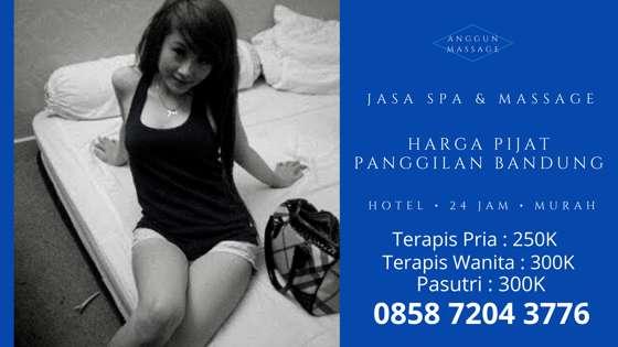 Harga Pijat Panggilan di Bandung