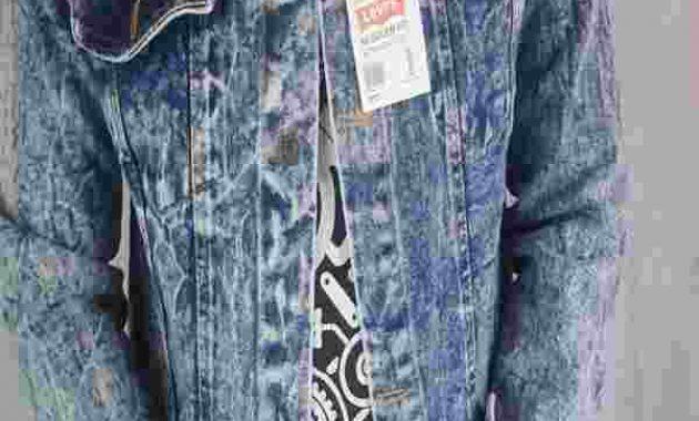 Contoh Gambar Jaket Jeans Levis Bandung Murah Harga Distro