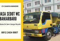 Harga Jasa Tukang Sedot WC Banjarbaru Murah Kalimantan Selatan