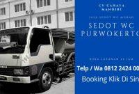 Sedot WC Purwokerto Harga Jasa Tukang Murah 24 Jam CV CAHAYA MANDIRI Nomor Telepon WA