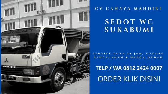 Harga Jasa Sedot WC Sukabumi 24 Jam Ongkos Biaya Tukang Murah PLUS Nomor Telep WA