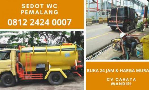 Jasa Sedot WC Pemalang Jawa Tengah 24 jam Harga Tukang Murah