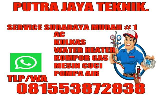 Jasa Service Kompor Gas Panggilan Surabaya Biaya Tukang Murah Buka 24 Jam