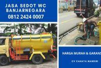 Jasa Tukang Sedot WC Banjarnegara 24 Jam Biaya Murah