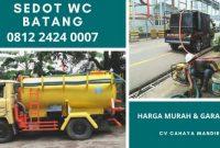 Jasa Tukang Sedot WC Batang Jawa Tengah Harga Murah 24 Jam