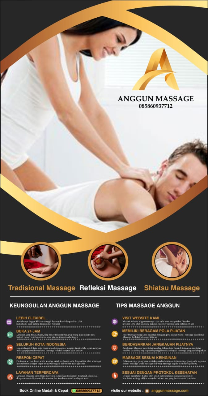 Pijat Panggilan 24 Jam Ke Hotel Terapis Wanita Pria Pasutri PLUS Harga Anggun Massage