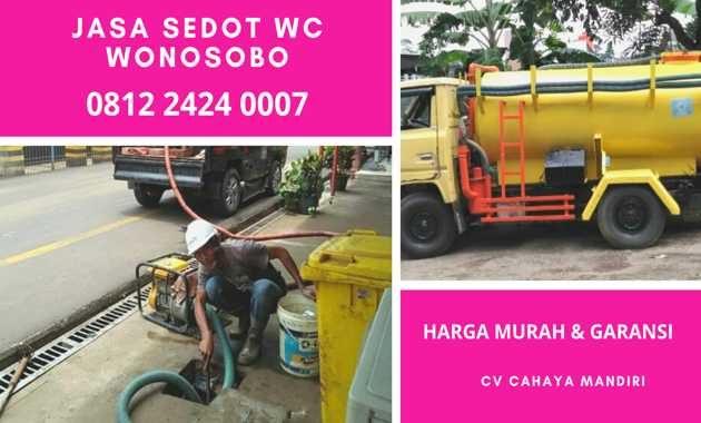 info Jasa tukang sedot wc wonosobo 24 jam biaya murah