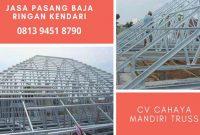 Jasa Tukang Pemasangan Atap Rangka Taso Baja Ringan di Kota Kendari Distributor Grosir