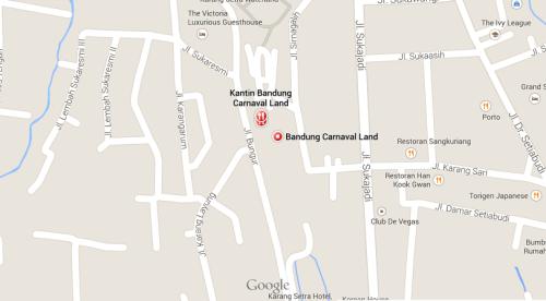 Bandung Carnival Land Map