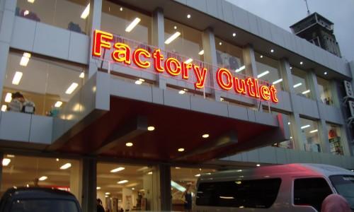 Factory Outlet Di Bandung