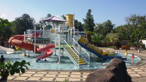 Kolam Renang Tectona Waterpark Splash