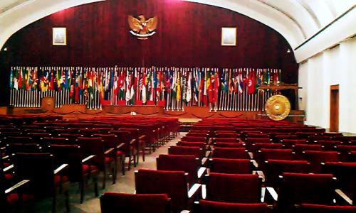 Ruang Sidang Utama Museum Konferensi Asia Afrika