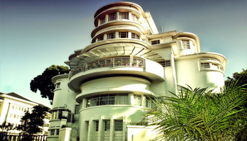 Villa Isola UPI Lembang Bandung