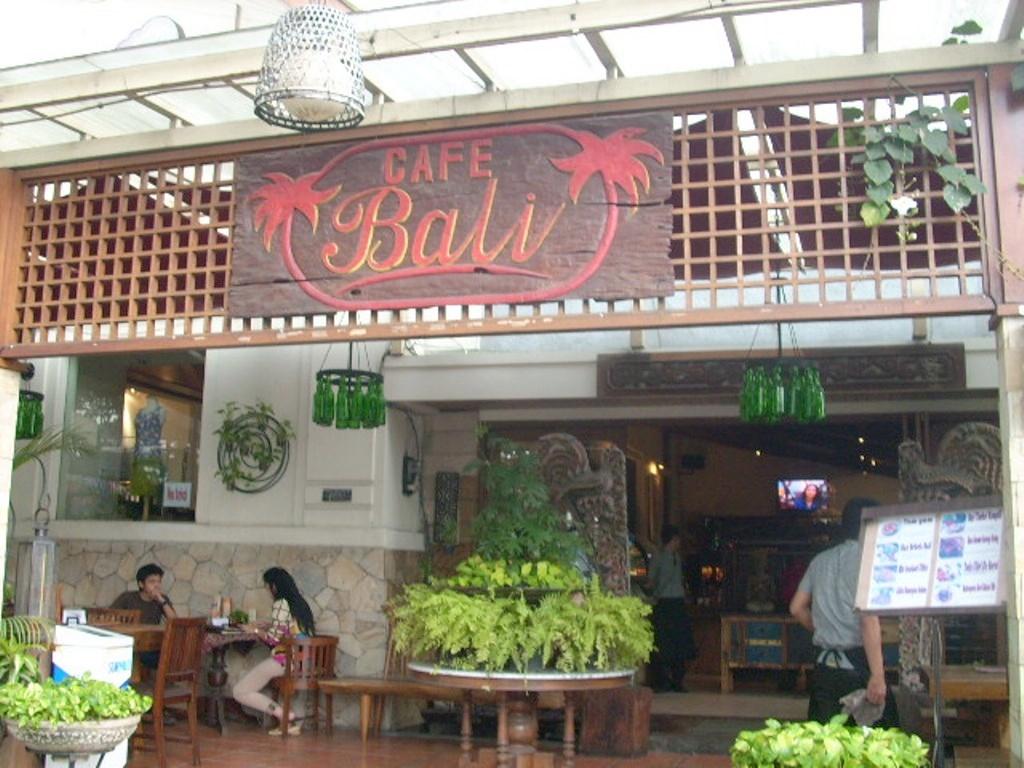 Cafe Bali Bandung
